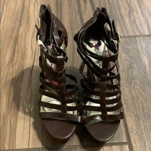🔥5 for$20🔥Penny loves Kenny open toe wedges